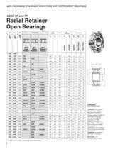 Super Precision Bearings and Bearing Products Catalog - 10