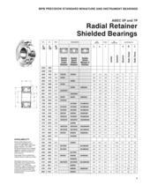 Super Precision Bearings and Bearing Products Catalog - 11