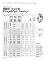 Super Precision Bearings and Bearing Products Catalog - 12