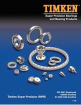 Super Precision Bearings and Bearing Products Catalog - 1