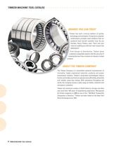 Super Precision Bearings for Machine Tool Applications Catalog - 5