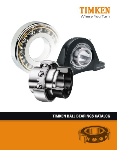 Timken Ball Bearings Catalog