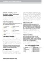 Timken Cylindrical Roller Bearing Catalog - 10