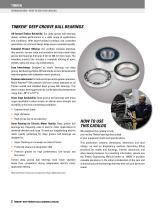 TIMKEN® DEEP GROOVE BALL BEARING CATALOG - 4