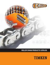 Timken Drives Roller Chain Catalog - 1