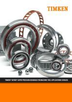 TIMKEN® FAFNIR® SUPER PRECISION BEARINGS FOR MACHINE TOOL APPLICATIONS CATALOG - 1