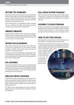 TIMKEN® FAFNIR® SUPER PRECISION BEARINGS FOR MACHINE TOOL APPLICATIONS CATALOG - 4