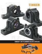 Timken® SNT Plummer Block Catalog - 1