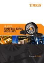 Timken UC Series Ball Housed Unit Catalog - 1