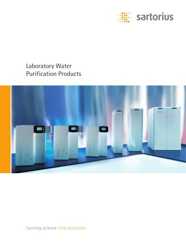 Laboratory Water Purification Products