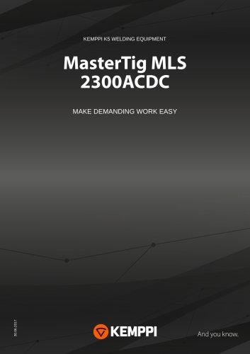MASTERTIG MLS 2300ACDC