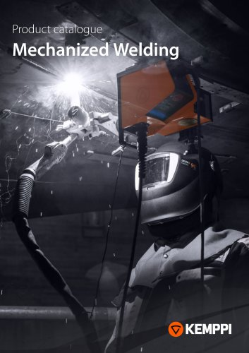 Product catalogue Mechanized Welding