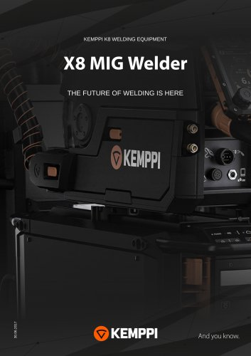 X8 MIG WELDER