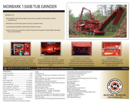 1300B Tub Grinder