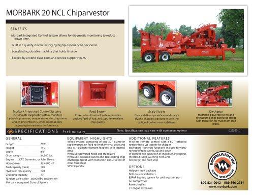 20 NCL Chiparvestor