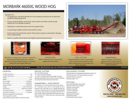 4600XL Wood Hog
