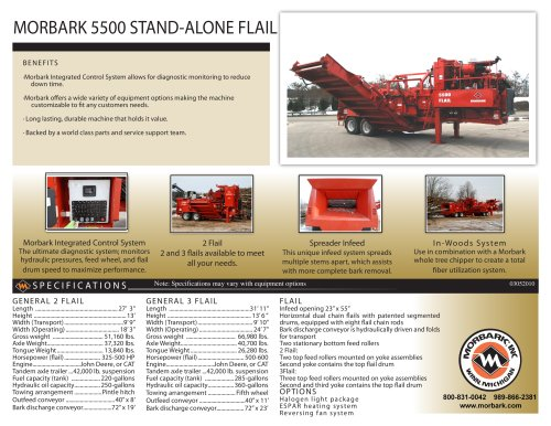 5500 Stand-Alone Flail