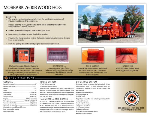 7600B Wood Hog