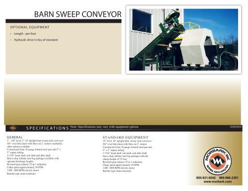 BARN SWEEP CONVEYOR