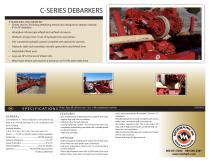 C Series Debarker