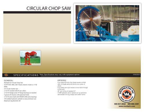 CIRCULAR CHOP SAW