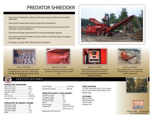 Predator Shredder
