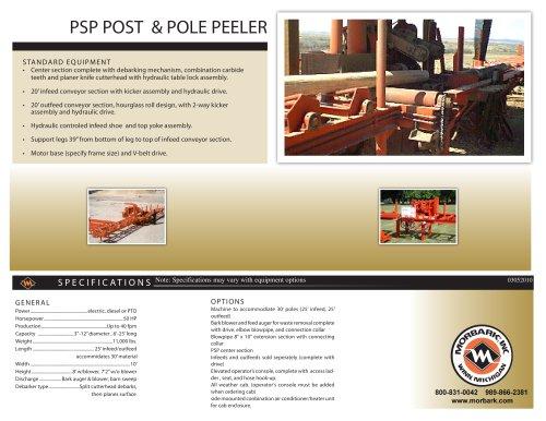 PSP Pole and Post Peeler