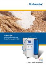 Aqua-Inject: Automatic water dosing system