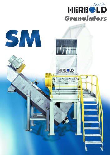 Plastic Granulators SM Series