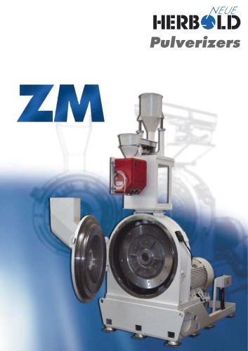 Pulverizers / Fine Grinders ZM Series