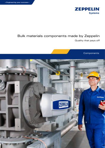 Bulk materials components made by Zeppelin