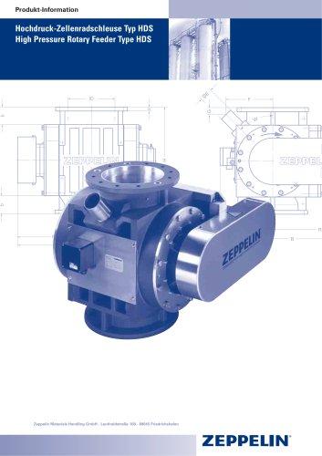 High Pressure Rotary Feeder Type HDS