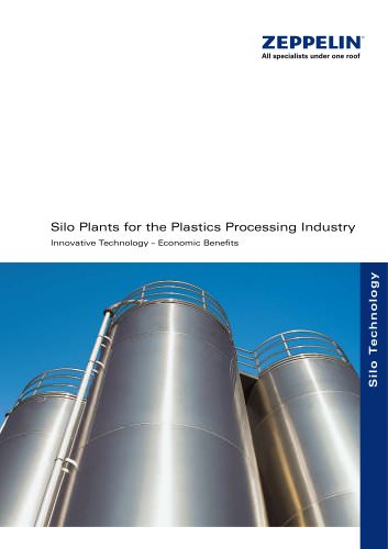 Silo Plants for the Plastics Processing Industry