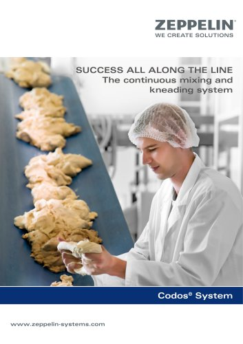 Zeppelin Continuous mixing and kneadling system Codos®