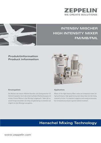 Zeppelin Henschel Intensive Mixer FM_MB_FML