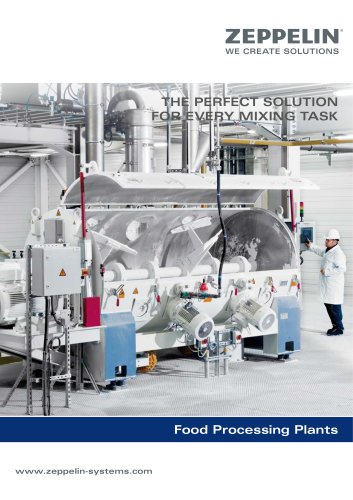 Zeppelin Mixing technology food industry