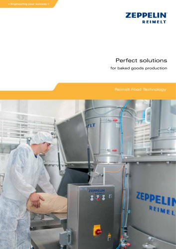Zeppelin Perfect solutions for the baked goods production