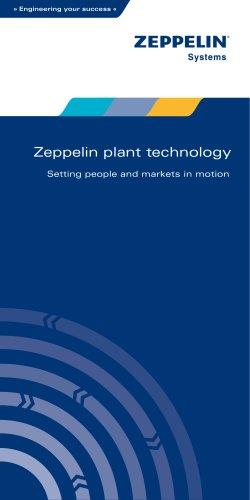 Zeppelin plant technology