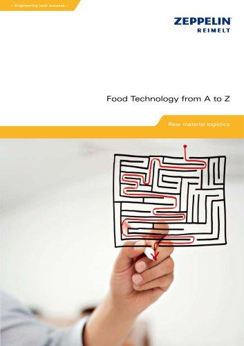 Zeppelin Raw material logistics Food