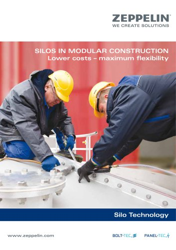 Zeppelin Silo technology modular construction BoltTec│PanelTec