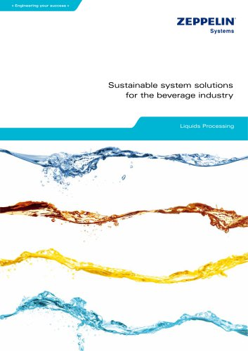 Zeppelin system solutions for the beverage industry