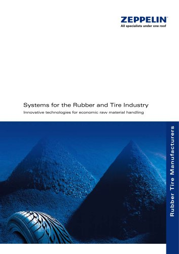 Zeppelin Systems for the Rubber and Tire Industry