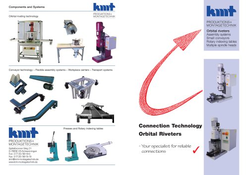 Connection technology Orbital riveters