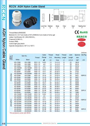 AGH Nylon Cable Gland