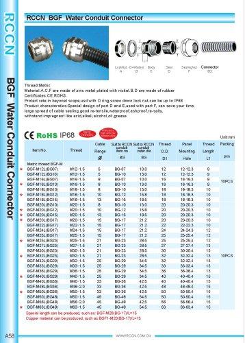 BGF Water Conduit Connector