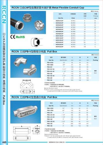 Metal Flexible Conduit Cap