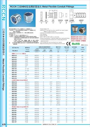 Metal Flexible Conduit Fittings p1