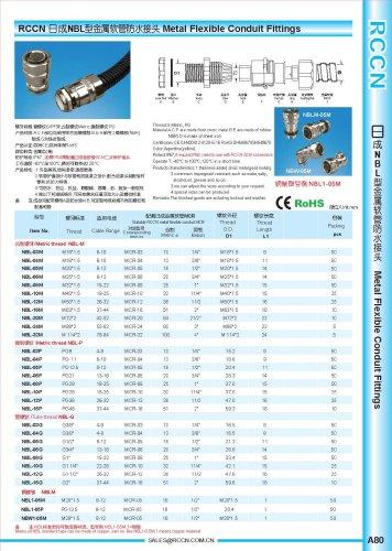 Metal Flexible Conduit Fittings p2