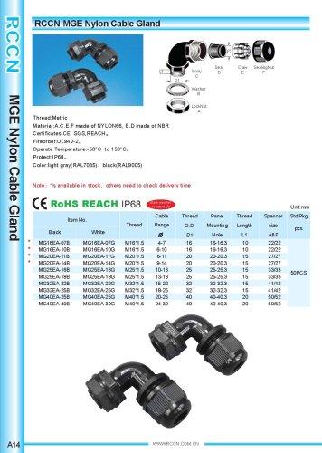 MGE Nylon Cable Gland
