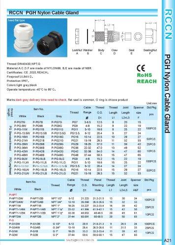 P-PG Nylon Cable Gland